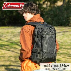 コールマン リュックサック 33L メンズ レディース ウォーカー33 ブラックヘザー 2000036190 Coleman 日帰り登山