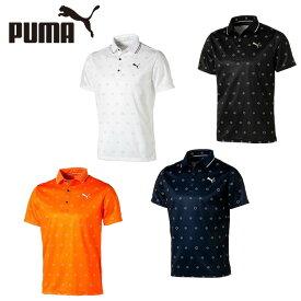 プーマ ゴルフウェア ポロシャツ 半袖 メンズ モノグラム SS ポロシャツ 半袖 930010 PUMA