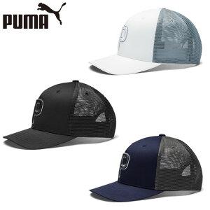 プーマ ゴルフ キャップ メンズ トラッカー P 110 スナップバックキャップ 022538 PUMA