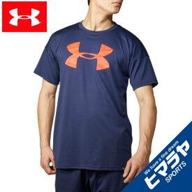 アンダーアーマー 野球ウェア 半袖Tシャツ メンズ UAテック ショートスリーブ ビッグロゴ シャツ 1354249-410 UNDER ARMOUR