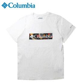 【7000円以上でクーポン利用可 6/1まで】 コロンビア Tシャツ 半袖 メンズ ラピッドリッジG SS T AE0403 100 Columbia