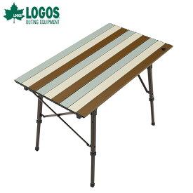 ロゴス アウトドアテーブル 90cm Life オートレッグテーブル 9050 ヴィンテージ 73185011 LOGOS