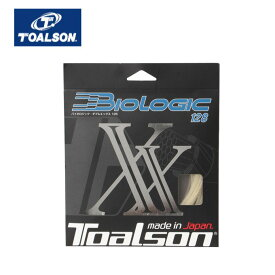 トアルソン 硬式テニスガット バイオロジック128XX 7202820N TOALSON