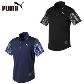 プーマ PUMA ゴルフウェア ポロシャツ 半袖 メンズ TOKYO NIGHT スリーブ ポロシャツ 半袖 930033