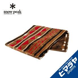 スノーピーク ブランケット SP×PENDLETON TOWEL BLANKET タオルブランケット One Beige SI-20SU001BG snow peak