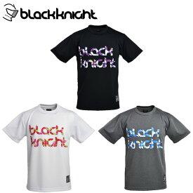 ブラック ナイト バドミントンウェア Tシャツ 半袖 メンズ T-0160 Black knight