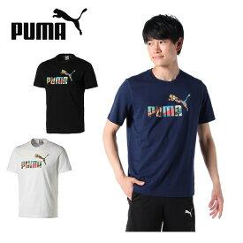 プーマ Tシャツ 半袖 メンズ グラフィック スーベニア SS Tシャツ 半袖 584616 PUMA
