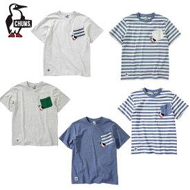 チャムス CHUMS Tシャツ 半袖 メンズ ブービーキャリーポケットTシャツ CH01-1674