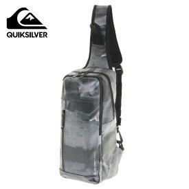 クイックシルバー QUIKSILVER ボディバッグ メンズ BLOCK ONE SHOULDER BAG 撥水 耐水 QUIK BLOCK 5L ワンショルダー QBG201312-CAM