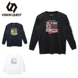 ビジョンクエスト VISION QUEST バスケットボール 長袖シャツ ジュニア プリントTシャツ VQ570414J02