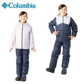 コロンビア スノーボードウェア 110〜120cm 上下セット ジュニア キッズ 子供 ダブルフレークセット SY1093-466 Columbia