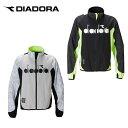 ディアドラ DIADORA テニスウェア バドミントンウェア 防寒ジャケット メンズ ハイブリッドジップジャケット DTP0184
