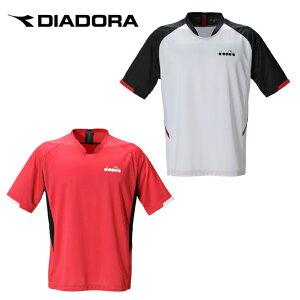 ディアドラ DIADORA テニスウェア バドミントンウェア Tシャツ 半袖 ジュニア コンペティショントップ DTJ0380