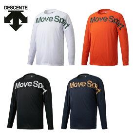 デサント DESCENTE スポーツウェア 長袖 メンズ 長袖Tシャツ DMMQJB50