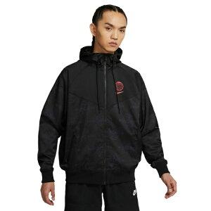 【エントリーで19倍 8/10〜8/11まで】 ナイキ ウインドブレーカー ジャケット メンズ Sportswear Windrunner DA1477-010 NIKE