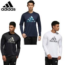 アディダス スポーツウェア 長袖 メンズ MH カモBOS ロンTシャツ Must Haves Badge of Sport Long Sleeve Tee IXG08 adidas