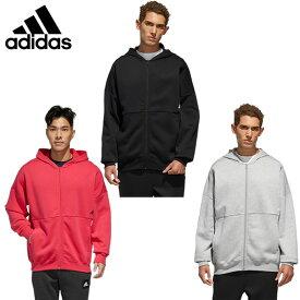 アディダス スウェットジャケット メンズ マストハブ ワード フルジップスウェットシャツ IXG24 adidas