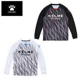ケルメ KELME サッカーウェア プラクティスシャツ 長袖 メンズ プリント長袖プラシャツ KC20F170