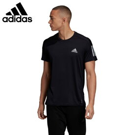 アディダス ランニングウェア Tシャツ 半袖 メンズ オウン ザ ラン クーラー 半袖Tシャツ Own the Run Cooler Tee GC7873 IPF30 adidas
