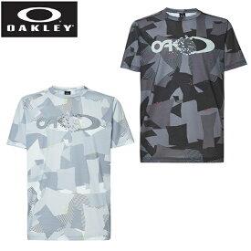 オークリー Tシャツ 半袖 メンズ Enhance QD SS Tee Graphic 10.7 EN QD総柄グラフィック機能Tシャツ FOA401589 OAKLEY