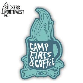 ステッカーズノースウエスト STICKERS NORTHWEST ステッカー CAMP FIRES & COFFEE 0283-LSTK