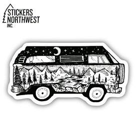 ステッカーズノースウエスト STICKERS NORTHWEST ステッカー BUS SCENE 0383-LSTK