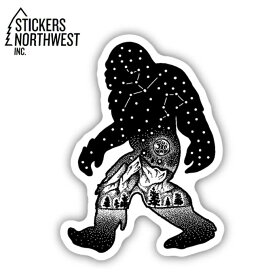 ステッカーズノースウエスト STICKERS NORTHWEST ステッカー SASQUATH CONSTELLATION 0301-LSTK