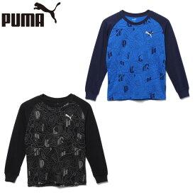 プーマ Tシャツ 長袖 ジュニア AS グラフィック LS T 584952 PUMA