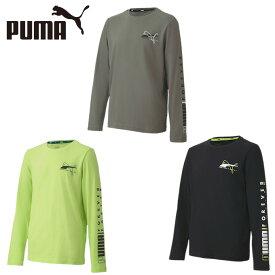 プーマ Tシャツ 長袖 ジュニア ALPHA LS Tシャツ 585223 PUMA