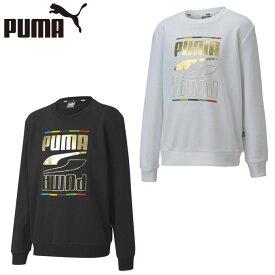 プーマ スウェットトレーナー ジュニア REBEL クルースウェット 585312 PUMA