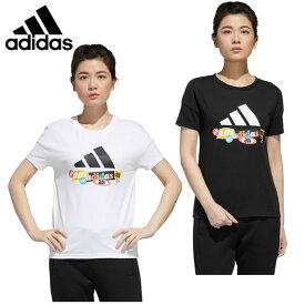 アディダス Tシャツ 半袖 レディース アーバン ストーリー 半袖Tシャツ JLP60 adidas