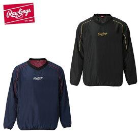 ローリングス Rawlings 野球 ウインドブレーカージャケット メンズ コンバット03 ウインドシャツ裏メッシュ AOS10F04