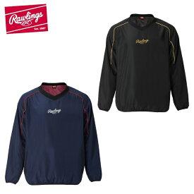 ローリングス Rawlings 野球 ウインドブレーカージャケット ジュニア JRコンバット03 ウインド裏メッシュ AOS10F04J