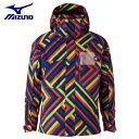 ミズノ スキーウェア ジャケット メンズ デモプリントスキーパーカ Z2ME032280 MIZUNO