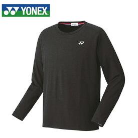 ヨネックス テニスウェア バドミントンウェア Tシャツ メンズ レディース 長袖 ロングスリープTシャツ フィットスタイル 16482 YONEX