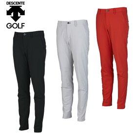 デサントゴルフ ブルー DESCENTE GOLF BLUE ゴルフウェア ロングパンツ メンズ ストレッチ裏起毛パンツ DGMQJD13