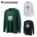 コンバース CONVERSE バスケットボール 長袖シャツ メンズ プリントロングスリーブシャツ CB202365L