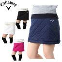 キャロウェイ ゴルフウェア スカート レディース スターストレッチ中綿スカート 241-0228806 Callaway