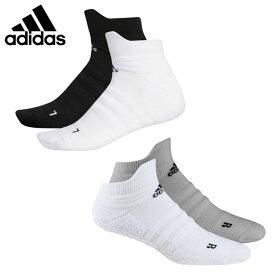 アディダス ゴルフ ソックス メンズ 2Pグリップソックスローカット IUH85 adidas