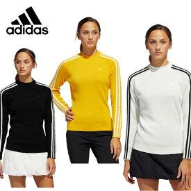 アディダス ゴルフウェア セーター レディース グラフィック モックネックシャツ INS14 adidas