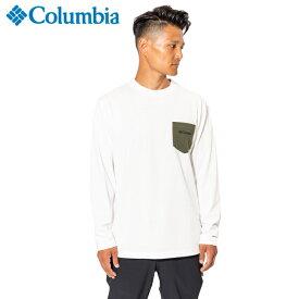 コロンビア Tシャツ 長袖 メンズ ヤングストリートロングスリーブクルー PM1948 100 Columbia