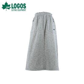 ロゴス LOGOS スカート レディース ラップウォームロングスカート 0486-8490 19