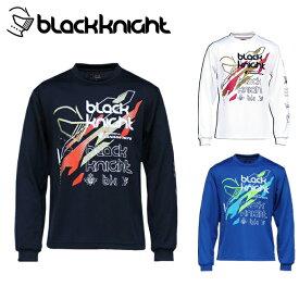 ブラック ナイト Black knight バドミントンウェア Tシャツ 長袖 メンズ レディース ロングTシャツ T-0250