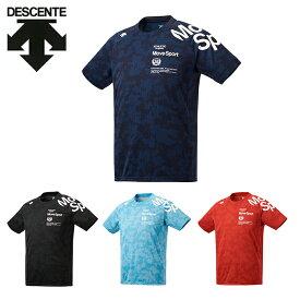 デサント DESCENTE Tシャツ 半袖 メンズ ジャガードグラフィック 半袖Tシャツ DMMRJA55