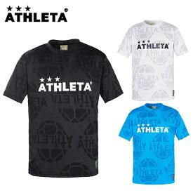 アスレタ ATHLETA サッカーウェア プラクティスシャツ 半袖 メンズ レディース ジャガードメッシュTシャツ 03352