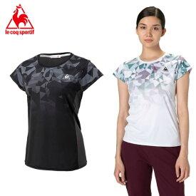 ルコック テニスウェア Tシャツ 半袖 レディース フレンチスリーブシャツ QTWRJA05