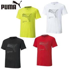 プーマ Tシャツ 半袖 ジュニア ACTIVE SPORTS ポリ Tシャツ 588900 PUMA