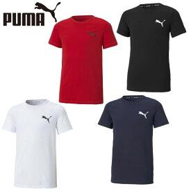 プーマ Tシャツ 半袖 ジュニア ACTIVE ESS スモールロゴ Tシャツ 588823 PUMA
