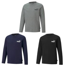 プーマ Tシャツ 長袖 ジュニア ESS NO.1 ロゴ LS Tシャツ 588985 PUMA