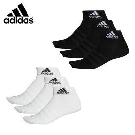 アディダス ソックス メンズ レディース アンクル ソックス 3足組 Ankle Socks 3 Pairs FXI56 adidas